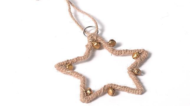 colgante de rbol con forma de estrella diez adornos navideos para