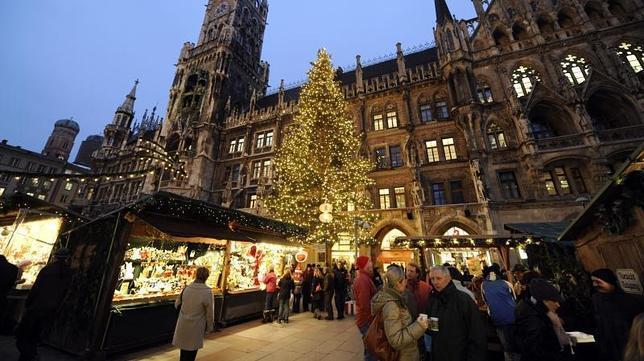 Algunos de los más impresionantes mercadillos de Navidad en Europa