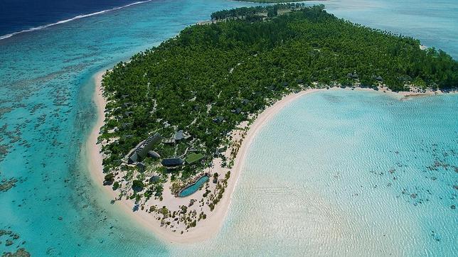Isla de Tetiaroa, en la Polinesia Francesa