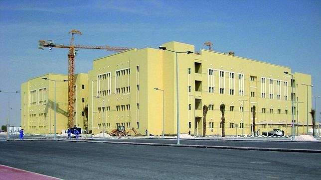 Imagen de una obra de Ecisa en Qatar