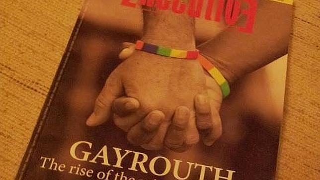 Portada de la revista Executive «Gayrouth»