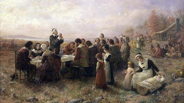 Los españoles celebraron Acción de Gracias 56 años antes que los peregrinos