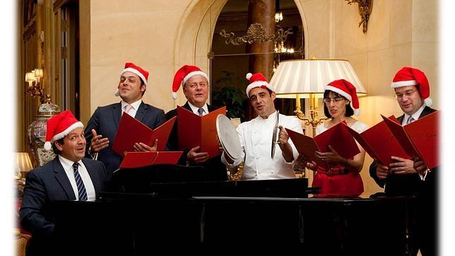 La Navidad solidaria del Ritz