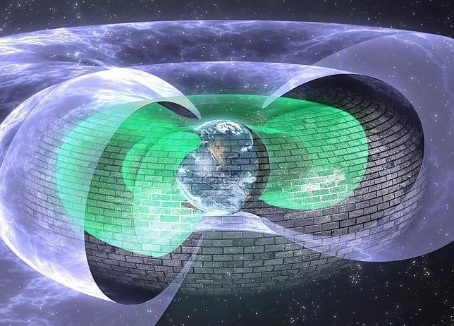 Un escudo invisible como el de Star Trek, descubierto a miles de km sobre la Tierra