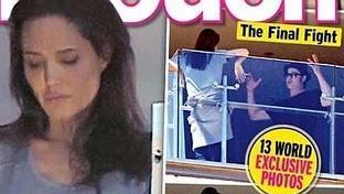 La fuerte bronca de Brad Pitt y Angelina Jolie en p�blico