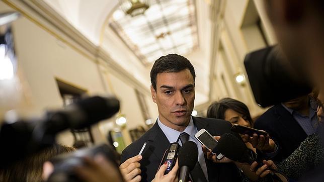 Pedro Sánchez, líder socialista