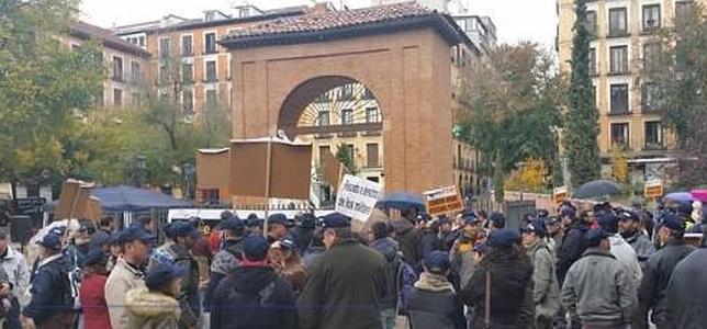 Militares se manifiestan en Madrid