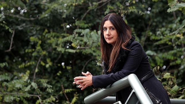 La escritora Dolores Redondo