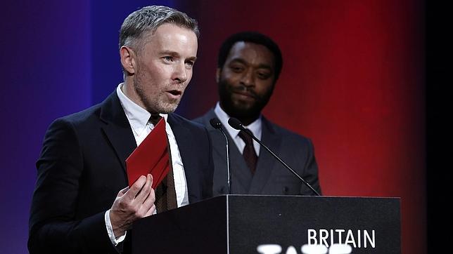Duncan Campbell, tras recibir el premio en la Tate Britain