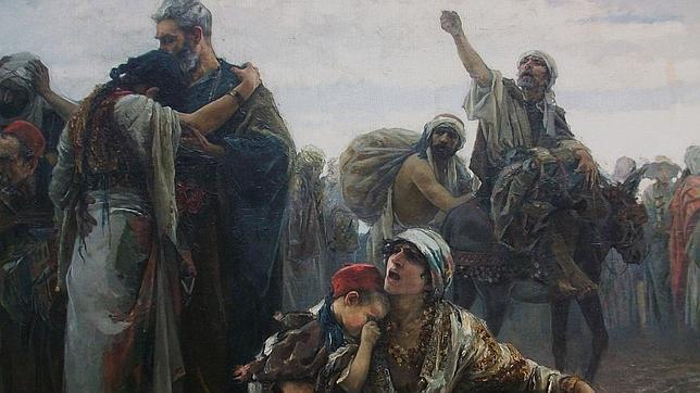 «La expulsión de los moriscos (1894)», de Gabriel Puig Roda.