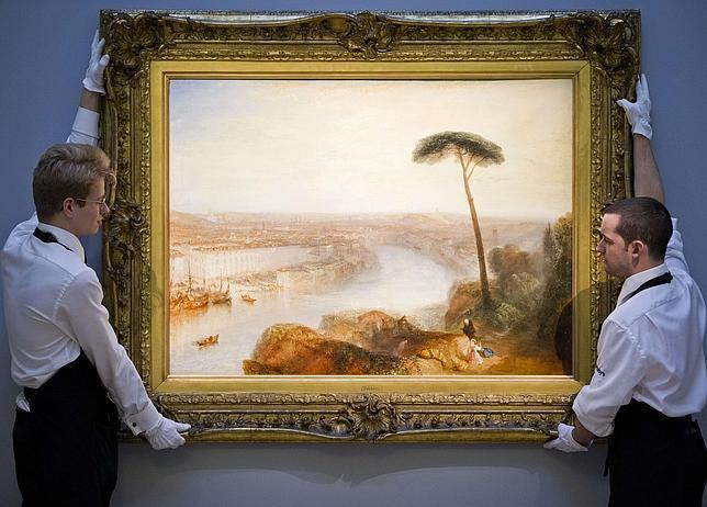 «Roma desde el Monte Aventino», de Turner