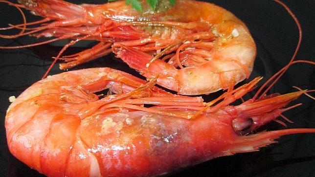 Cuidado con las gambas más rojas, además de carotenos, podrían tener cobre