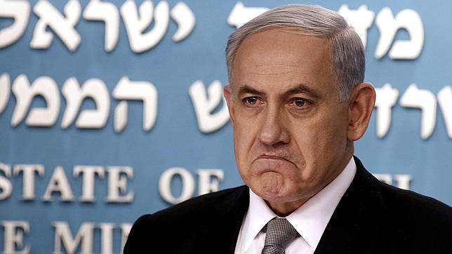 Netanyahu el pasado martes tras el anuncio de las elecciones anticipadas