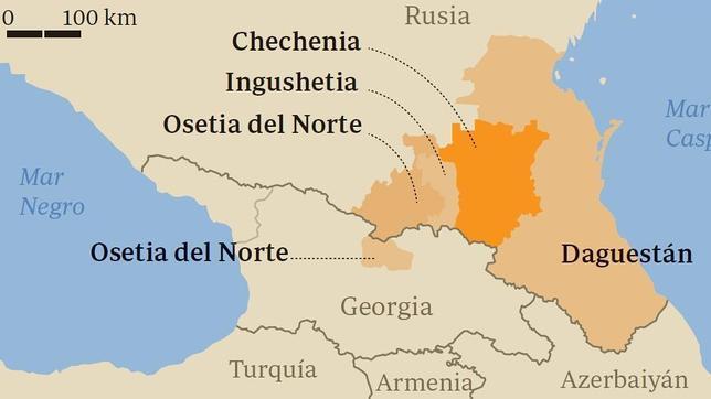 Resultado de imagen de chechenia