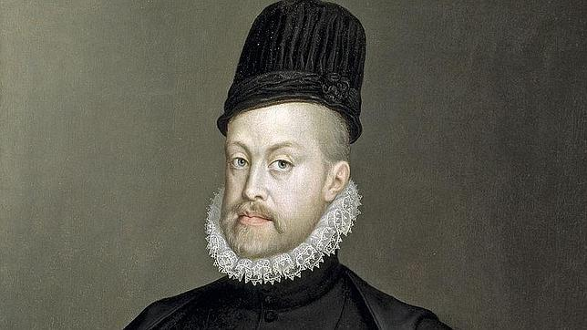 Retrato de Felipe II por Sofonisba Anguissola