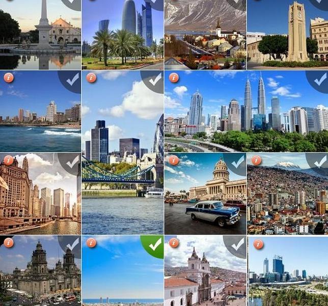 Imágenes de las catorce finalistas en el concurso Ciudades Maravillas del Mundo