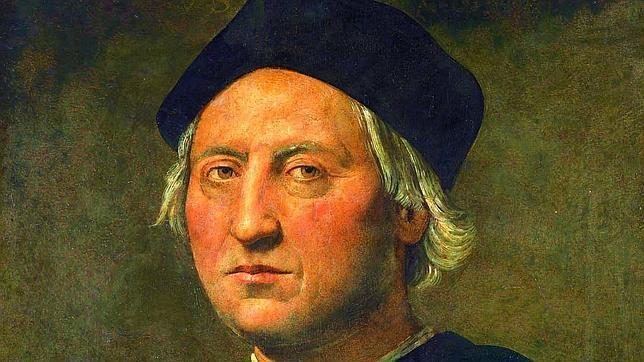 Retrato de Colón del pintor italiano Ghirlandaio