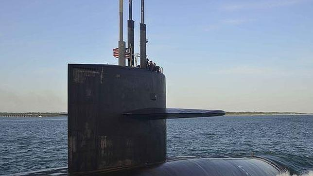 Una cámara oculta graba a mujeres oficiales en las duchas de un submarino de EE.UU.