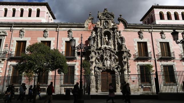 La fachada barroca de Pedro de Ribera, en el Museo de Historia de Madrid
