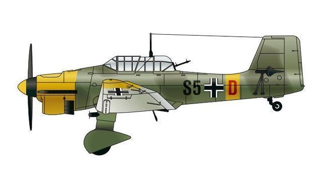 El Stuka, aunque operativo toda la guerra, comenzó a quedarse obsoleto en cuanto la Luftwaffe perdió el dominio de los cielos y dejó de estar protegido por los cazas