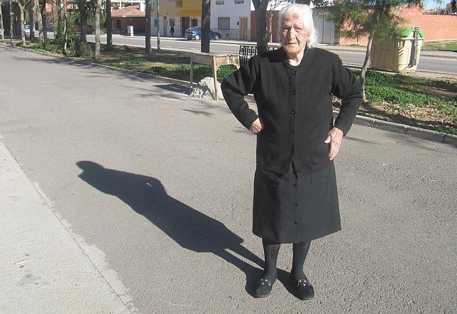 Teófila Gutiérrez se levanta de la cama a las ocho de la mañana