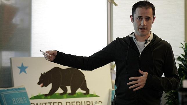 Williams en 2010, cuando era CEO de Twitter