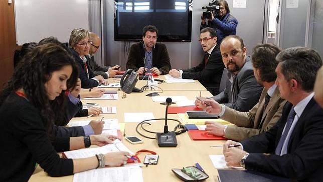 Pedro del Cura en la Comisión de investigación sobre las adjudicaciones presuntamente irregulares de contratos en Rivas Vaciamadrid