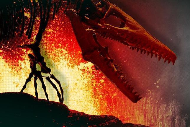 Una erupción volcánica en India ayudó a acabar con los dinosaurios