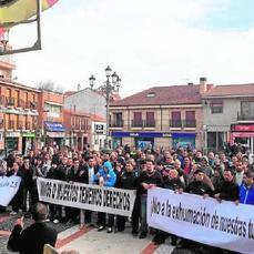 Protesta musulmana en Griñón por los precios del cementerio - ABC.es