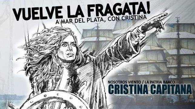 Cristina Kirchner se inspira en Hitler