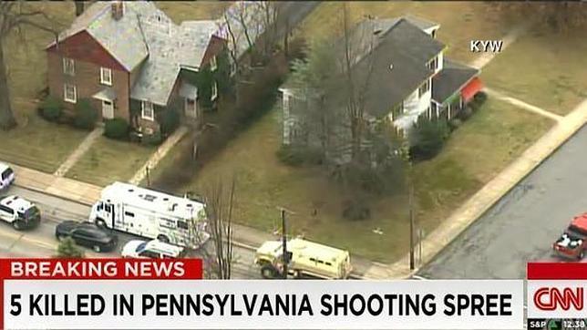 El autor del tiroteo en Filadelfia murió por «heridas autoinfligidas»