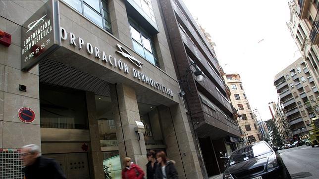 Imagen de una de las clínicas de Corporación Dermoestética en Valencia
