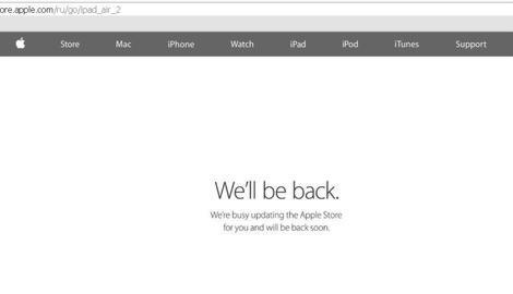 Apple cierra su tienda online en Rusia tras la caída del rublo
