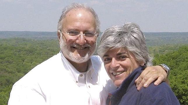 Imagen de archivo de Alan Gross y su esposa, Judy Gross