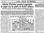 Galerías Preciados: 20 años de la mayor suspensión de pagos en el sector de la distribución