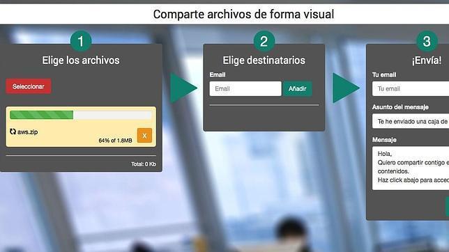 Visualbox lanza un sistema para compartir contenidos en la nube para empresas