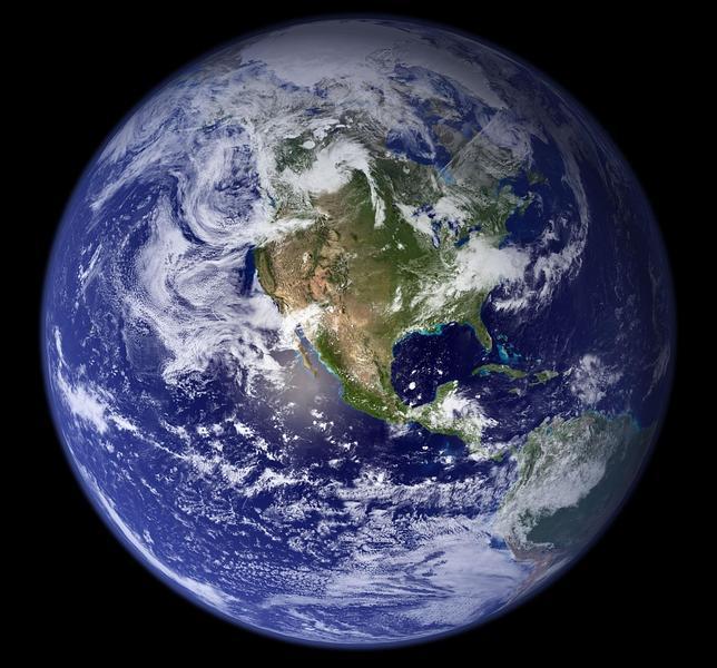 La Tierra, una «canica azul»
