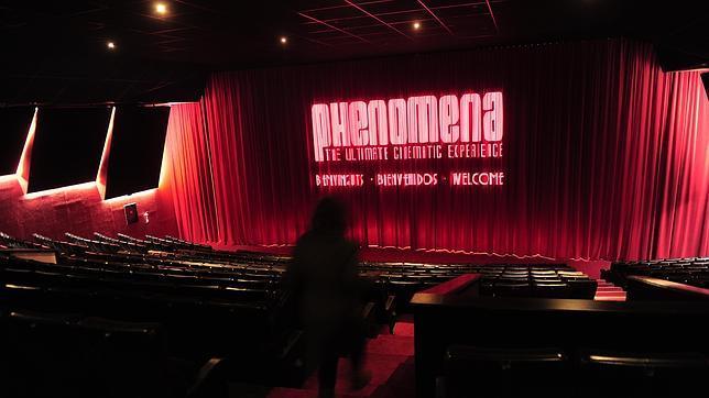 Interior de la nueva sala que Phenomena ha abierto en Barcelona