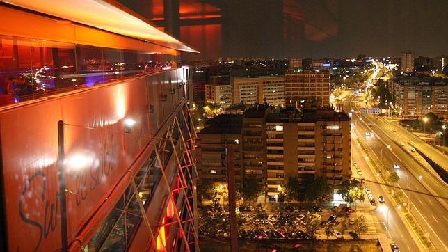 El Hotel puerta de América, con espectaculares vistas sobre Madrid