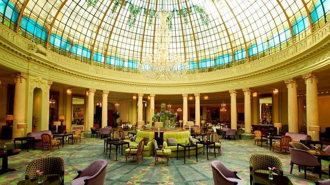 La cúpula del Hotel Palace, espectacular