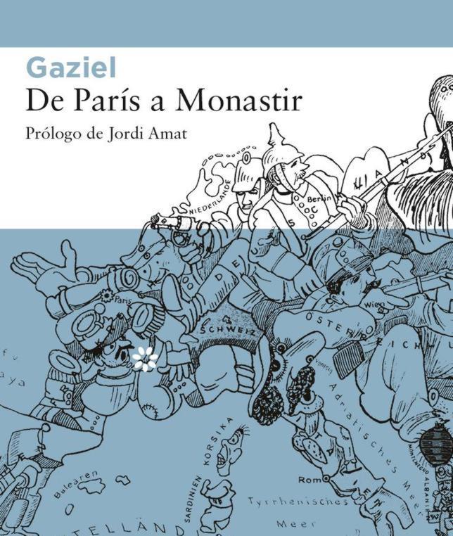 Cubierta de «De París a Monastir»