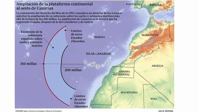 España extiende su soberanía a las profundidades del océano Atlántico