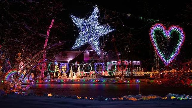 As 237 Es La Incre 237 Ble Casa De Las 601 736 Luces De Navidad