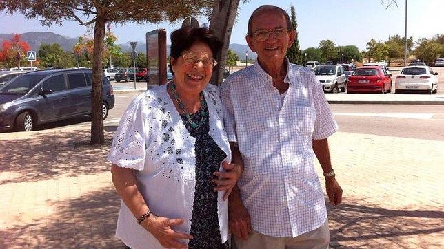 Odesa Trujillo y Rolando Sarraff Elías, los padres del preso político en paradero desconocido