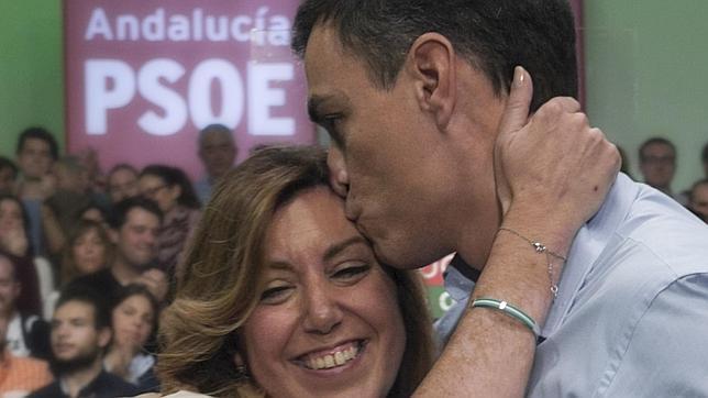 Pedro Sánchez ignora a Susana Díaz y recalca que optará a la Moncloa