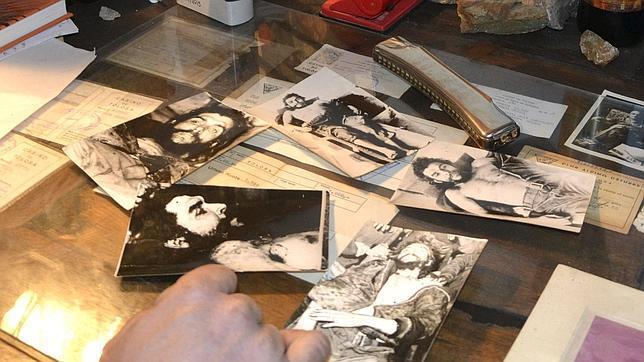 Las fotos ocultas del cadáver del Che