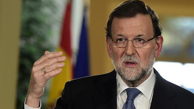 Mariano Rajoy, presidente del Gobierno, en su comparecencia de fin de año