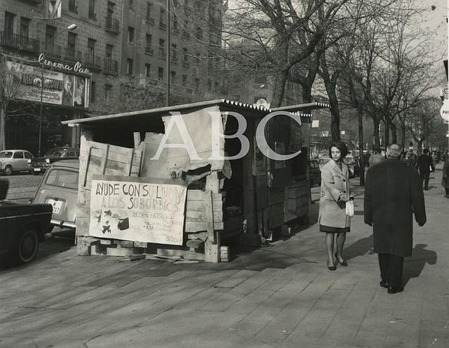 Fotograf as antiguas de abc el bel n chabola de la calle Calle belen madrid