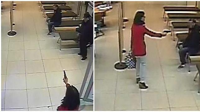 Un Mosso fuera de servicio evita el atraco a un banco