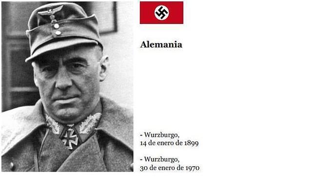 Fritz Bayerlein dirigió la famosa División Blindada «Panzer Lehr»
